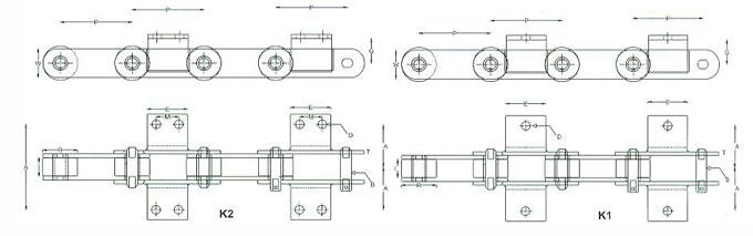 Bushed Roller Chains | FAIZTECH | Conveyor Belt Supplier